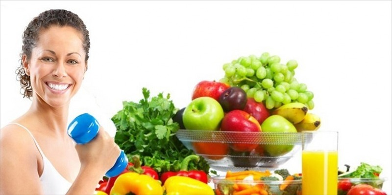 Raggiungete il benessere con una sana alimentazione e con l'attività fisica