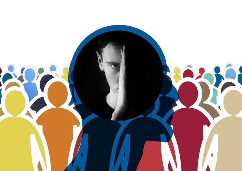 Fobia sociale, la paura di uscire di casa
